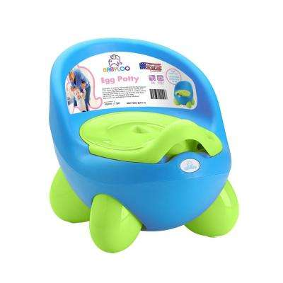 Toddler's Potty Training Egg Potty in Blue