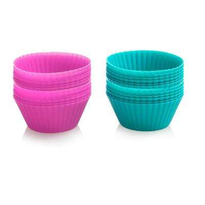 Silicone Baking Cup Set (24-Piece)