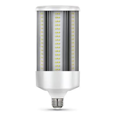 500-Watt Equivalent Corn Cob E26 with E39 Mogul Adapter High Lumen HID Utility LED Light Bulb Daylight (5000K) (1-Bulb)