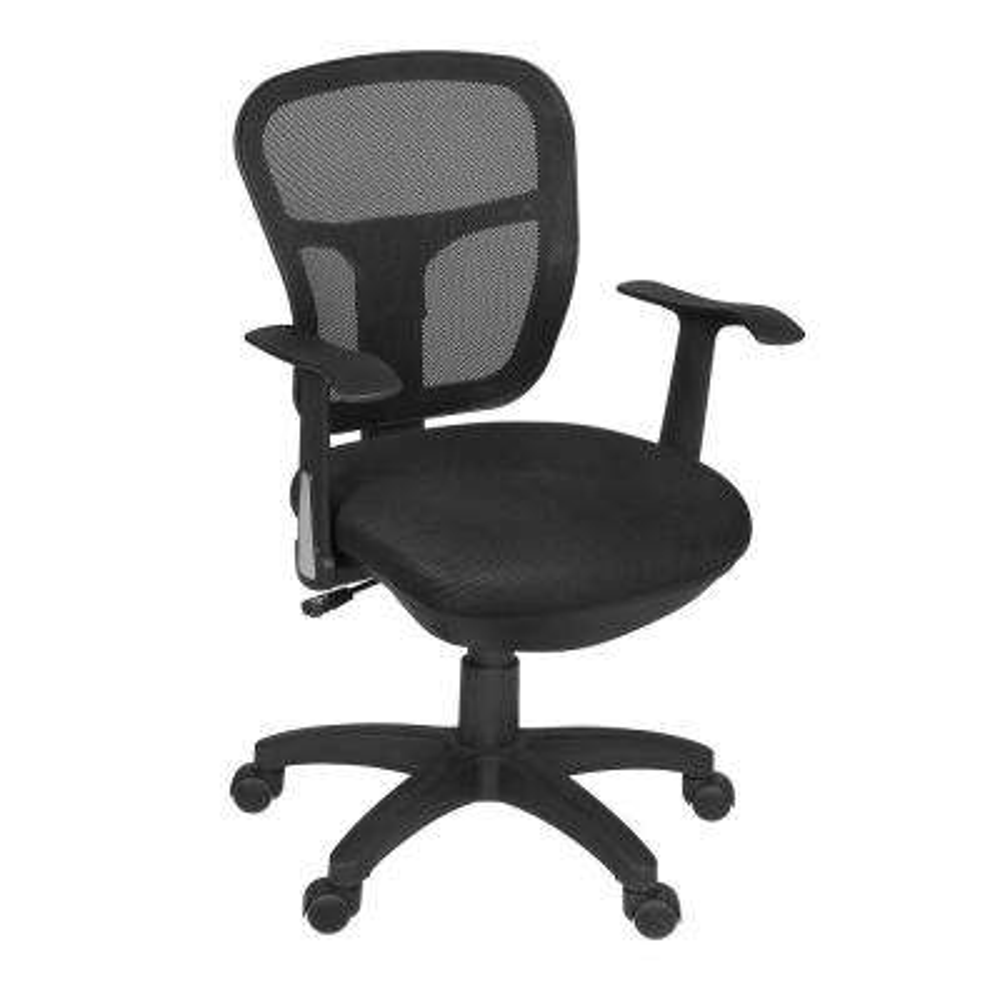 Harrison Black Swivel Chair