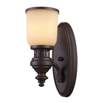 Chadwick 1-Light Oiled Bronze Sconce