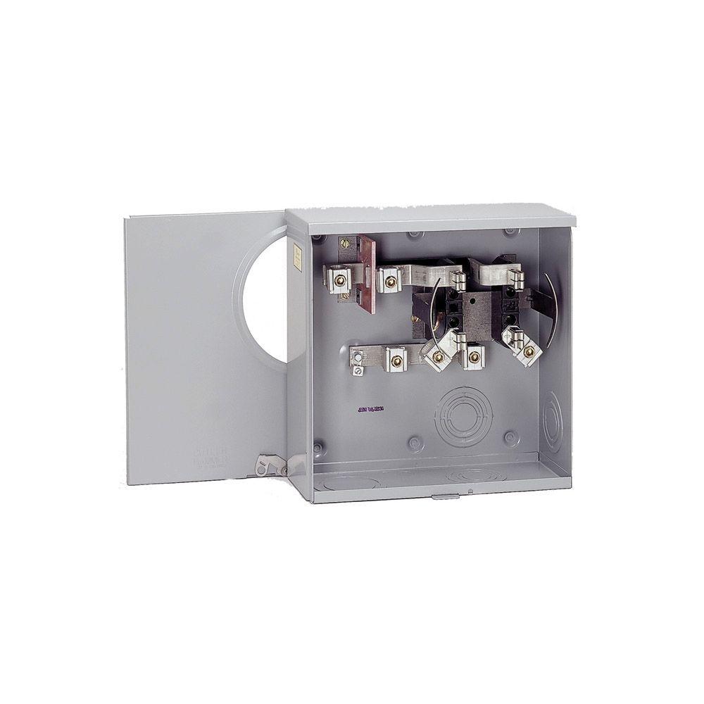null 200 Amp Single Meter Socket