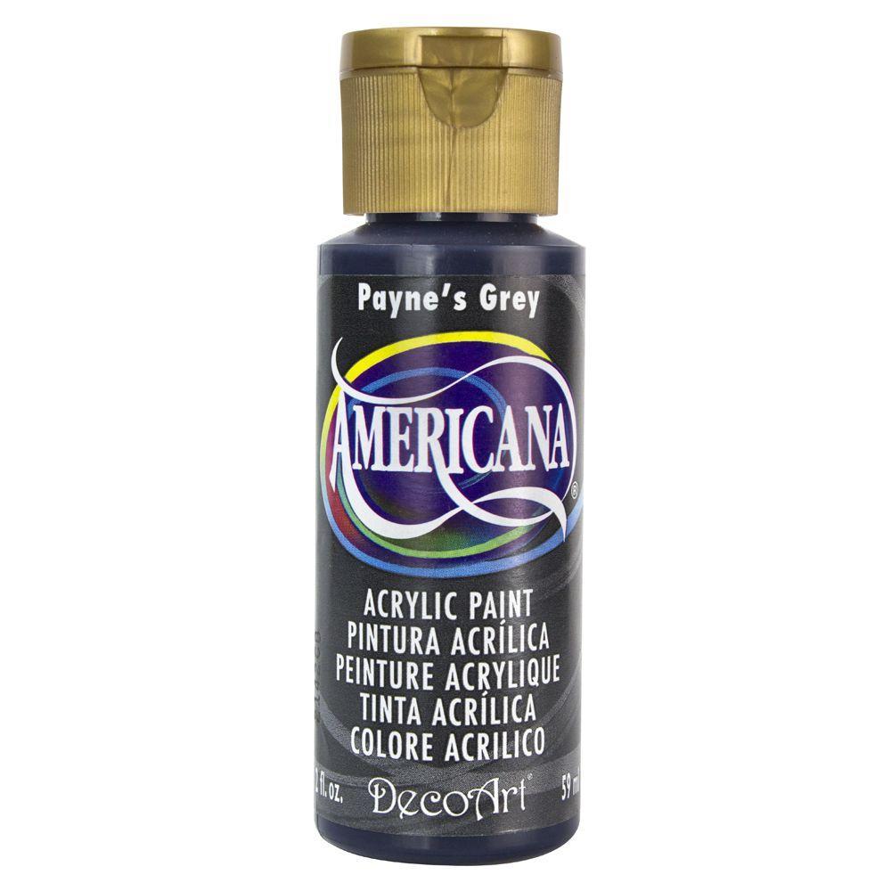 Americana 2 oz. Payne's Grey Acrylic Paint