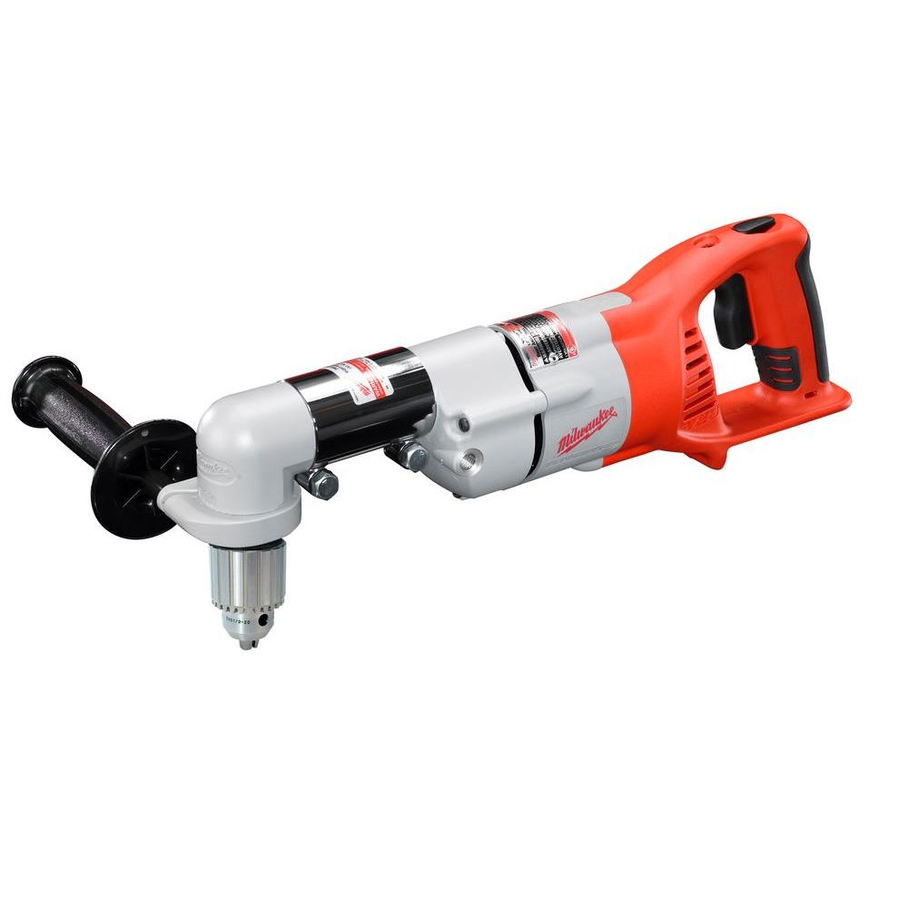 Milwaukee M28 28 Volt Lithium Ion Cordless 1 2 In Right Angle Drill