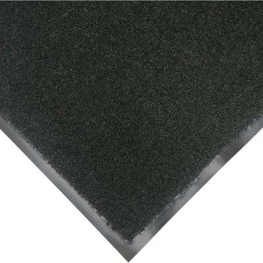 Tuff Plush Black 3 ft. x 4 ft. Polypropylene Carpet Floor Mat