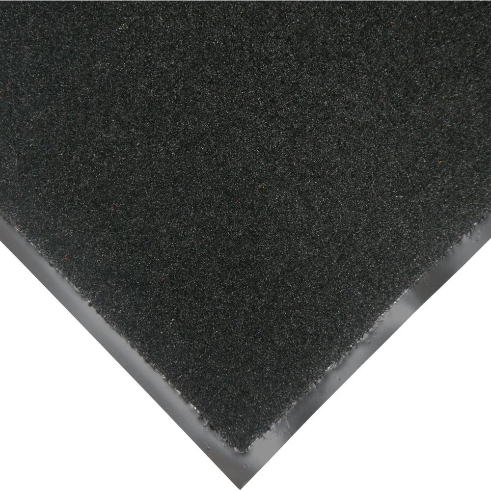 Rubber Cal Tuff Plush Black 3 Ft X 10 Ft Polypropylene