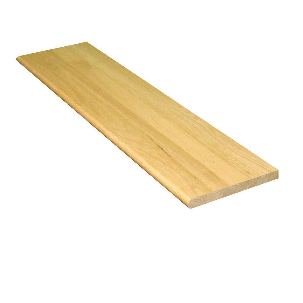 Stairtek 1 in x 11.5 in. x 42 in. Prefinished Natural Red Oak Tread