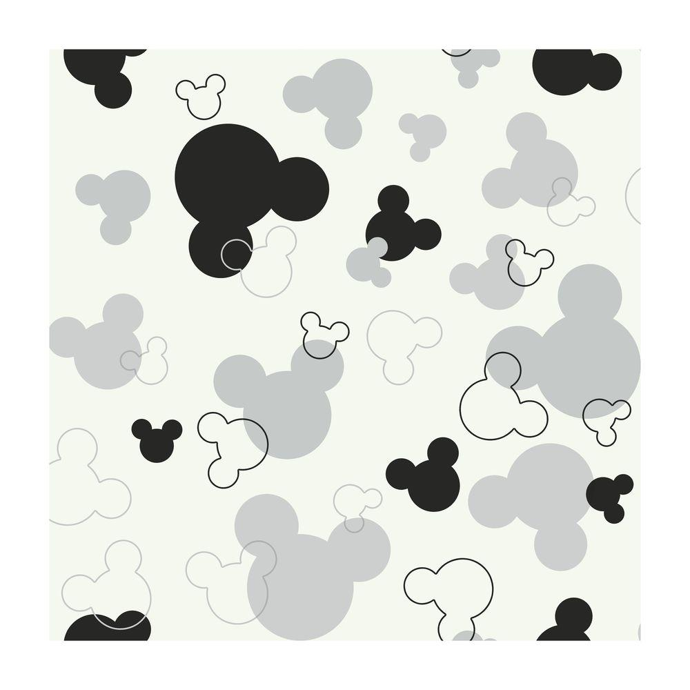 York Wallcoverings Mickey Mouse Heads Wallpaper