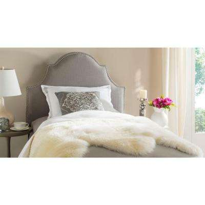 Hallmar Arctic Grey Twin Headboard