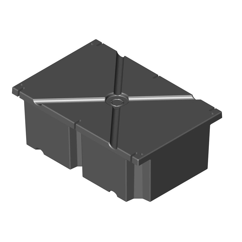 PermaFloat 24 in. x 36 in. x 16 in. Dock System Float Drum