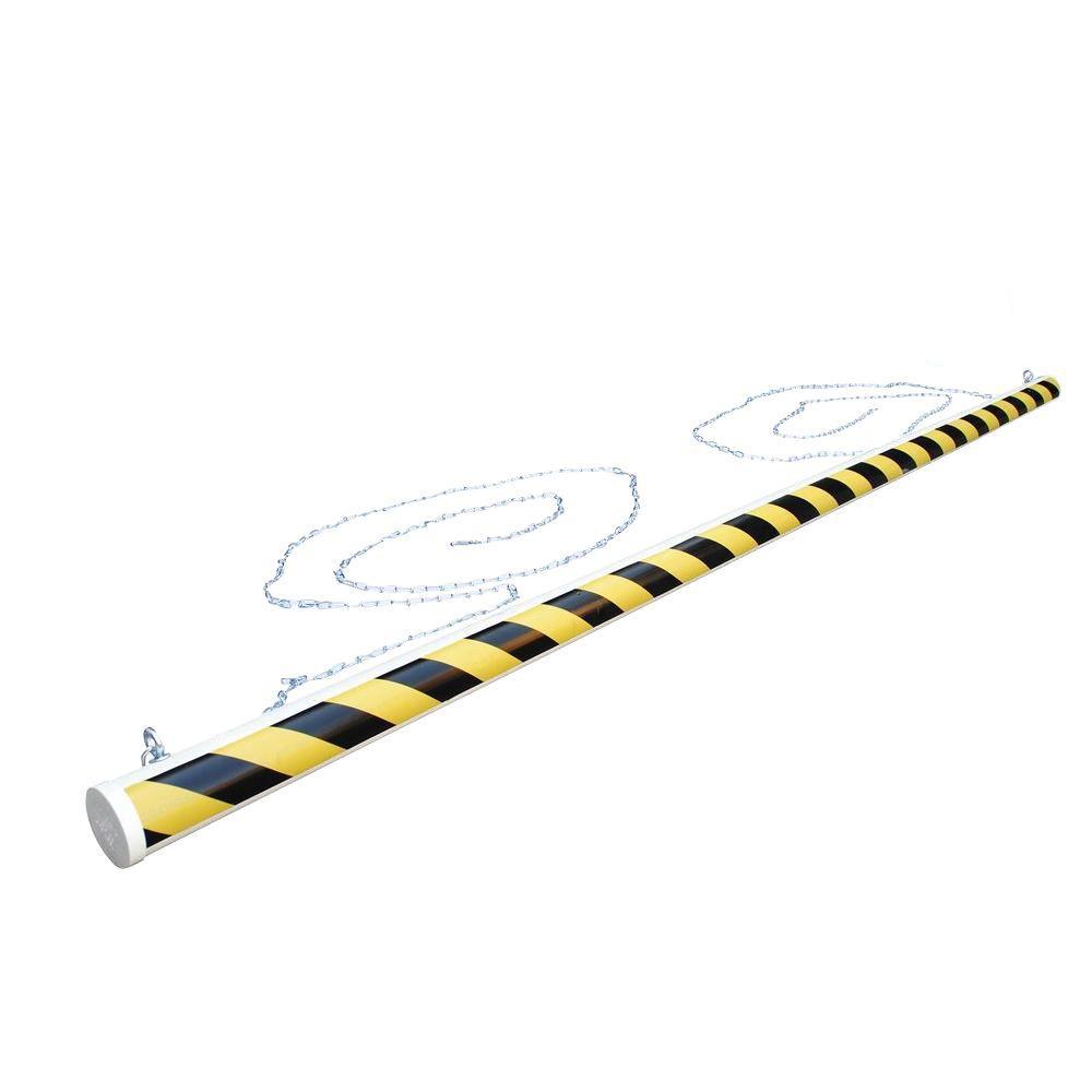 Vestil 10 ft. Long Economy PVC Overhead Door Warning Barrier
