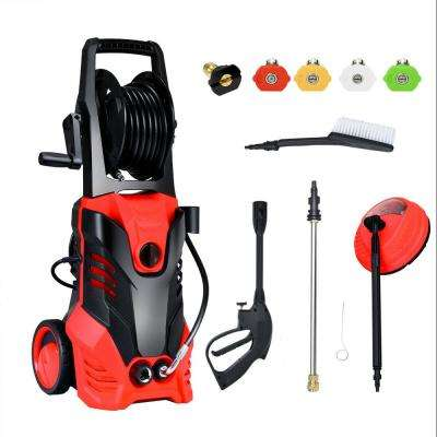 3000 PSI 2 GPM 2000-Watt Electric High Pressure Washer Machine with Deck Patio Cleaner