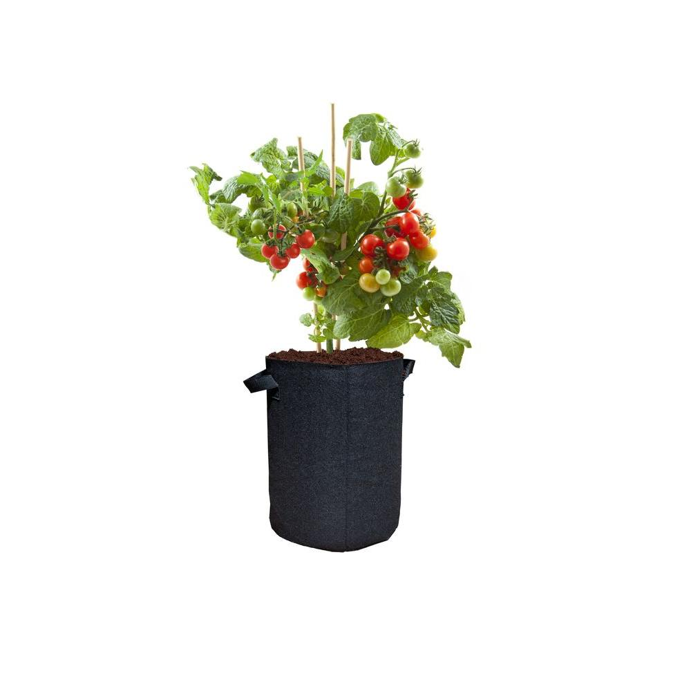 Viagrow 5 Gal. Breathable Fabric Root Aeration Pot with H...