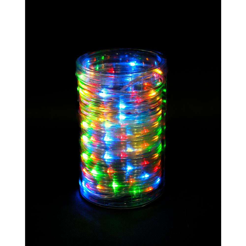 Micro Christmas Lights.Home Accents Holiday 26 Ft 100 Light Led Multi Color Battery Operated Micro Dot Rope Light