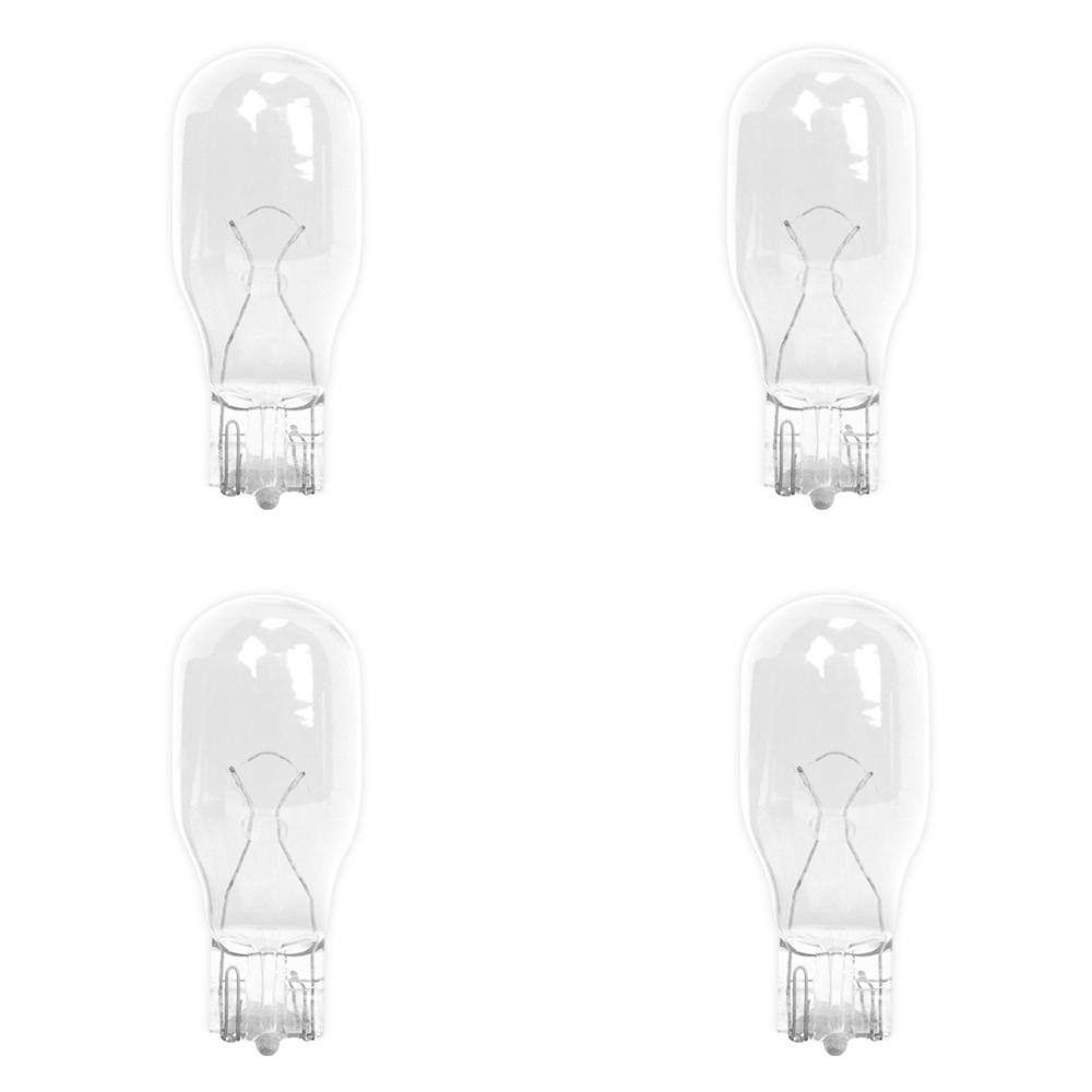 11-Watt Bright White (3000K) T5 Wedge Base Dimmable 12-Volt Landscape Garden Incandescent Light Bulb (4-Pack)