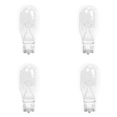 11-Watt Bright White (3000K) T5 Wedge Base Dimmable 12-Volt Landscape Garden Incandescent Light Bulb (4-Pack)