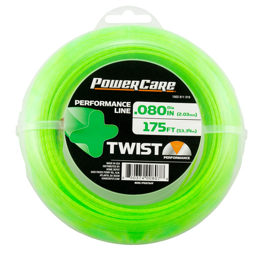 Power Care TWIST 0.080 in. x 175 ft. Universal Trimmer Line