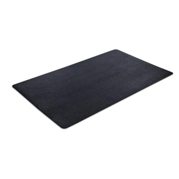36 in. x 60 in. Multipurpose Black Vinyl Mat