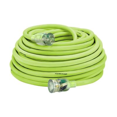100 ft. 10/3 AWG SJTW Pro Extension Cord with Lighted Plug