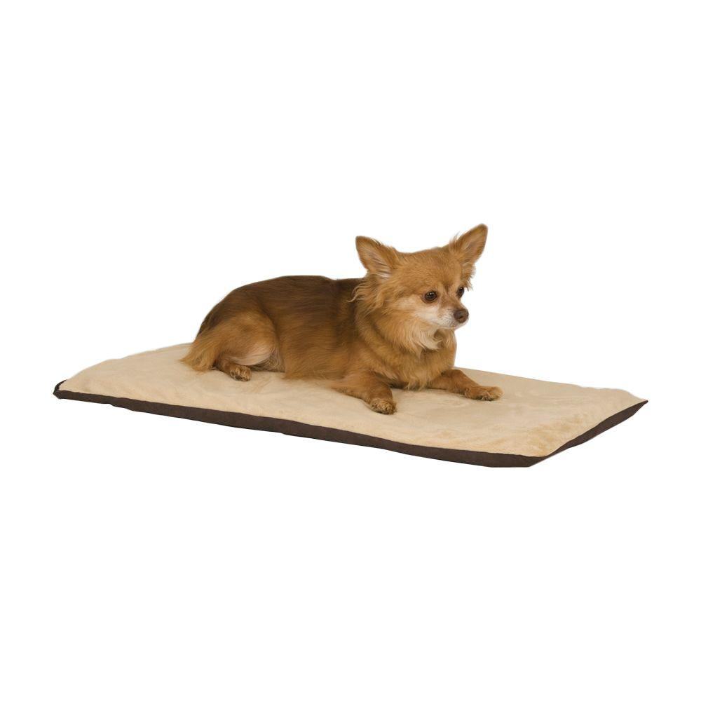 K&H Manufacturing Thermo-Pet Small Mocha Heated Dog Mat