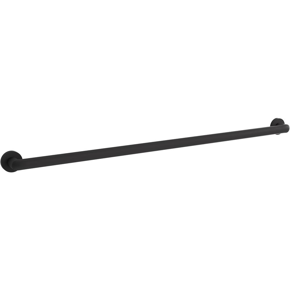 KOHLER Kumin 42 in. Grab Bar in Matte Black