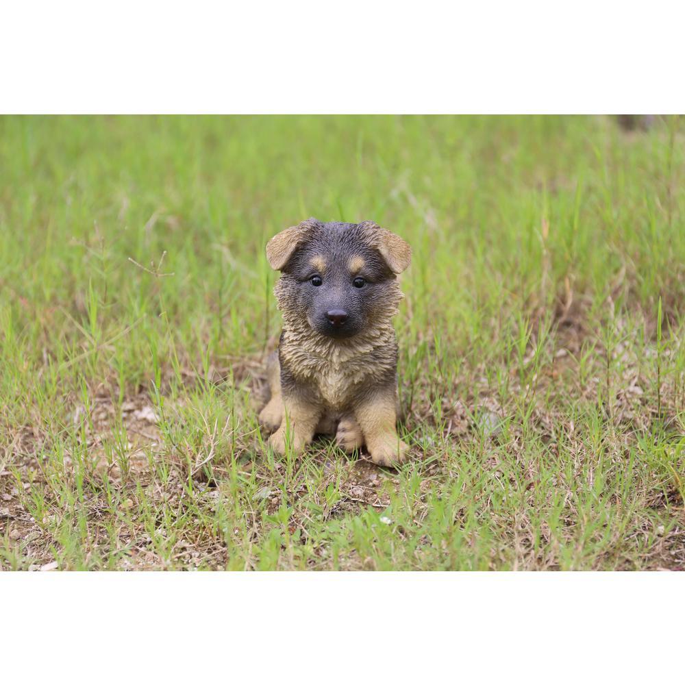 Hi Line Gift German Shepherd Puppy 87771 09 The Home Depot