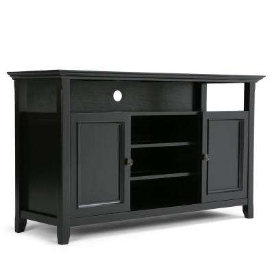 Amherst Black 54 in. TV Media Stand