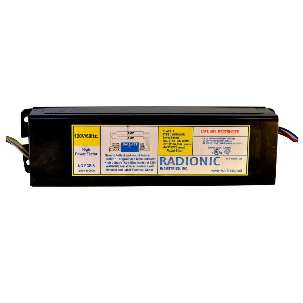 Radionic Hi Tech High Output High Power Factor Magnetic Replacement Ballast