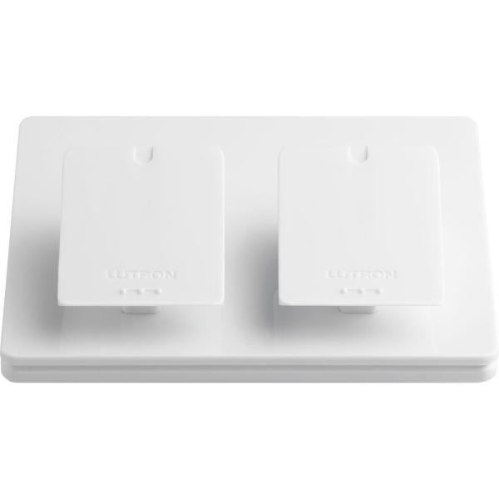 Caseta Wireless Dual-Pedestal for Pico Remote, White