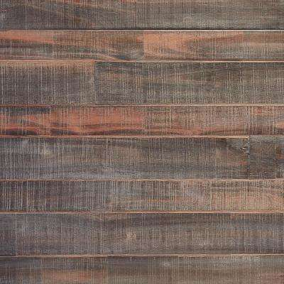 Japanese Charred Rose-Silver 5/8 in. T x Multi-Width x 48 in. L Solid Hardwood Flooring (18.33 sq. ft. / case)