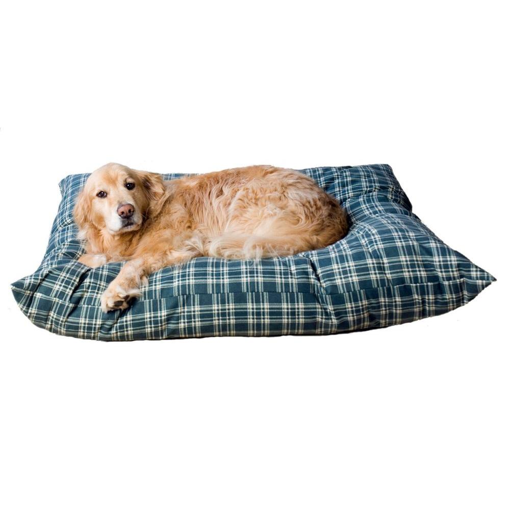 null Small Green Plaid Indoor/Outdoor Shebang Bed