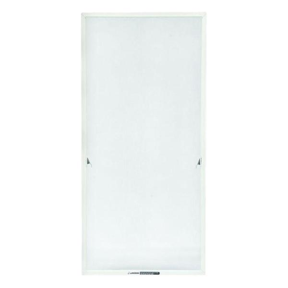 TruScene 24-15/16 in. x 43-17/32 in. White Aluminum Casement Insect Screen