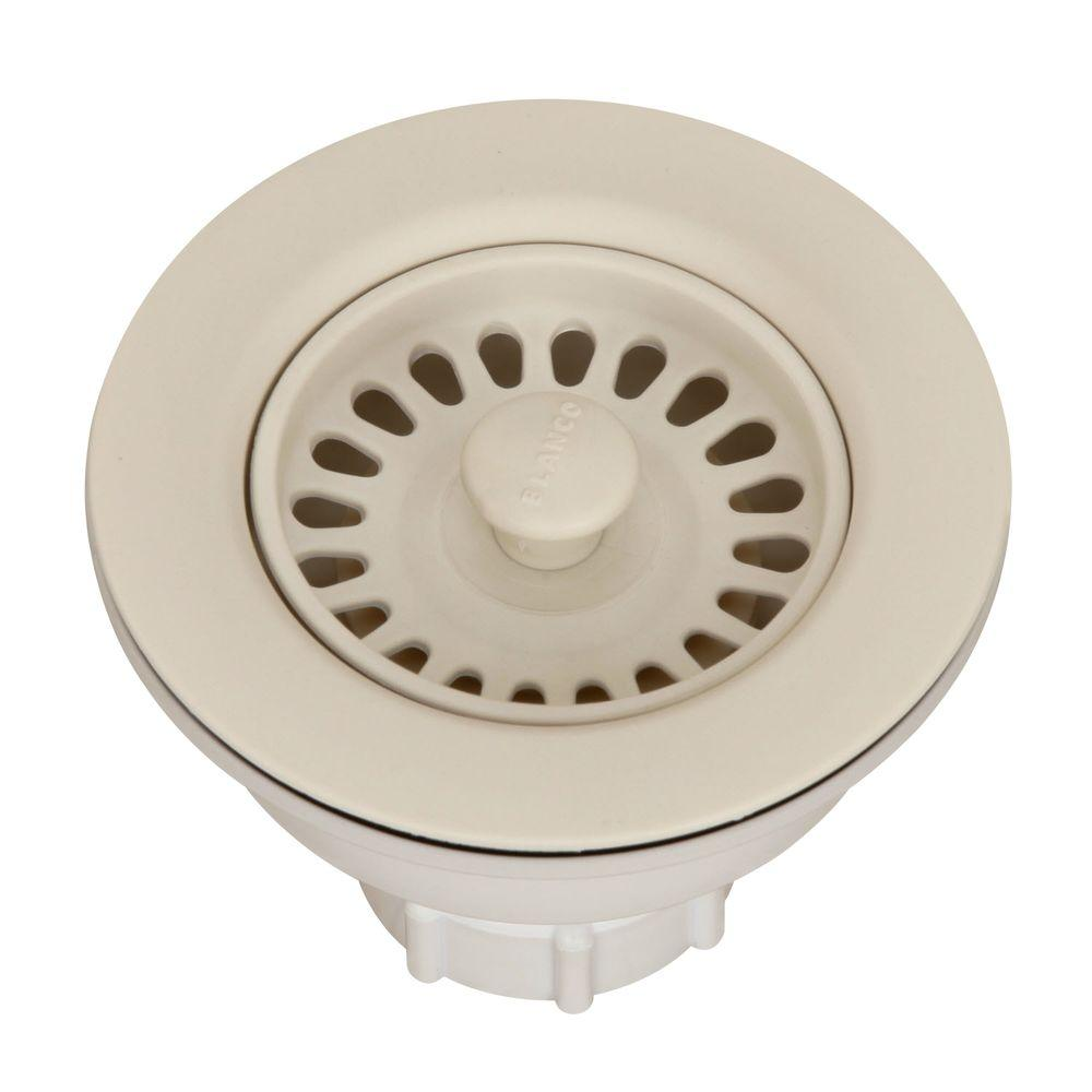 Merveilleux Blanco Decorative Basket Strainer In Biscuit