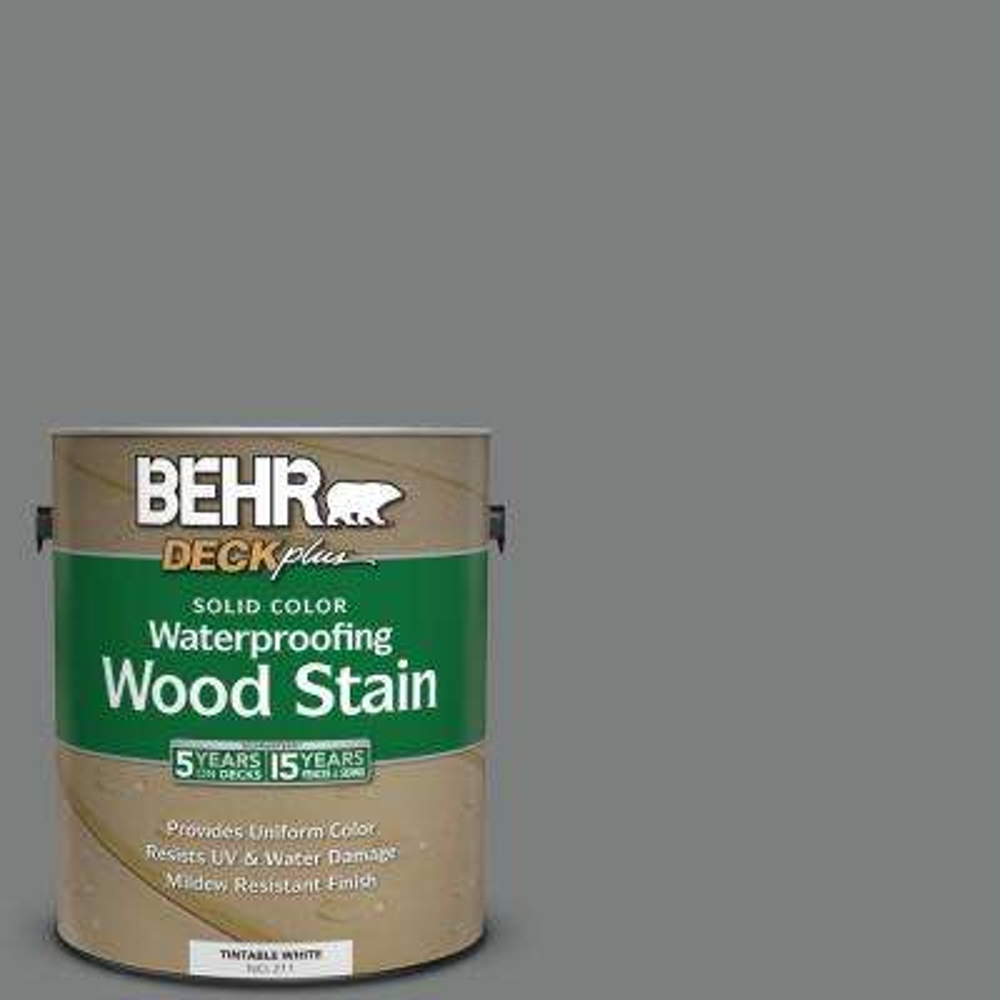 1 gal. #6695 Slate Gray Solid Color Waterproofing Wood Stain