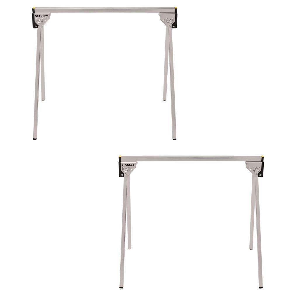 Stanley 29 in. Folding Metal Sawhorse (2-Pack) was $35.94 now $24.97 (31.0% off)