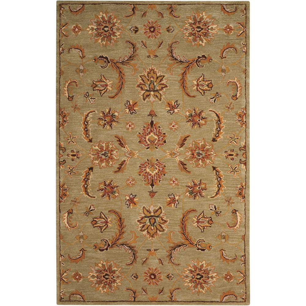 India House Light Green 5 ft. x 8 ft. Area Rug