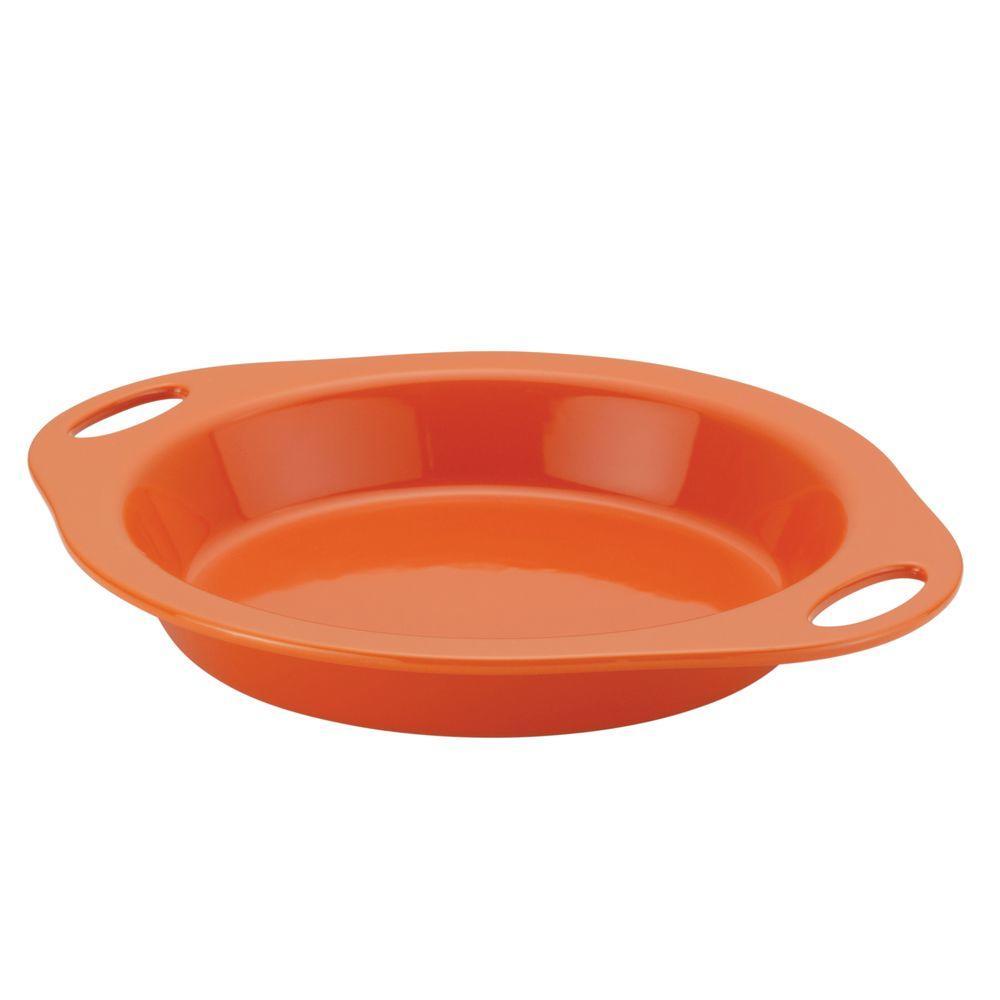 Round Stone Pie Dish  sc 1 st  Home Depot & Rachael Ray 9 in. Round Stone Pie Dish-58688 - The Home Depot