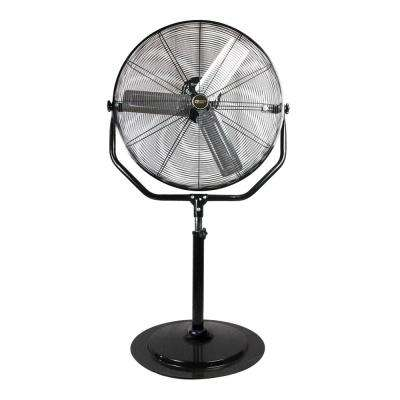 Adjustable-Height 30 in. Pedestal Fan