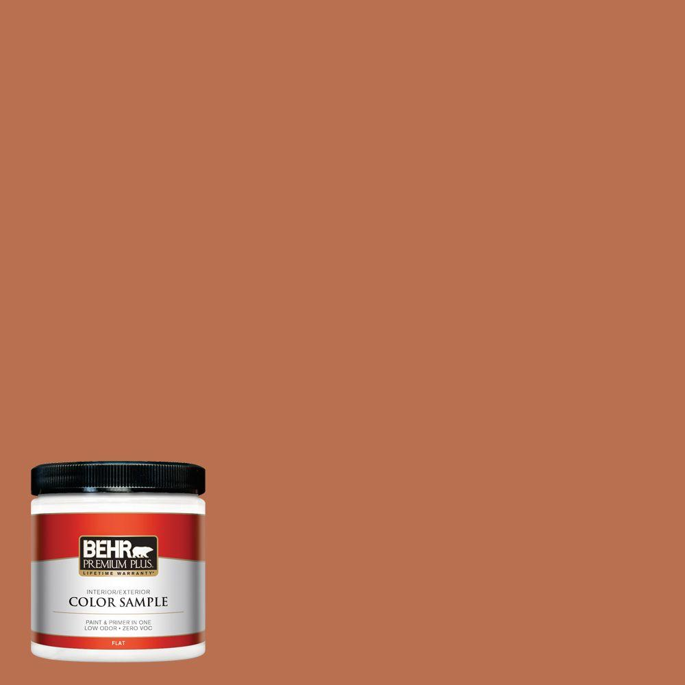 8 oz. #230D-6 Iced Tea Interior/Exterior Paint Sample