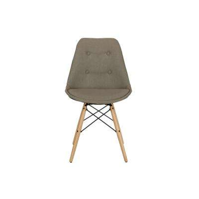 Alexa Gray Linen Dining Chair