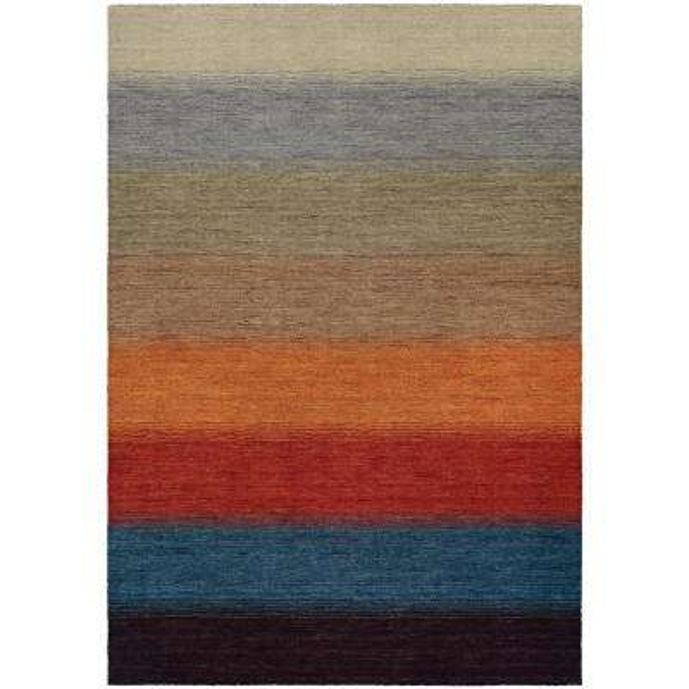 Oasis Lake Horizon Multi Color 2 ft. x 4 ft. Area Rug