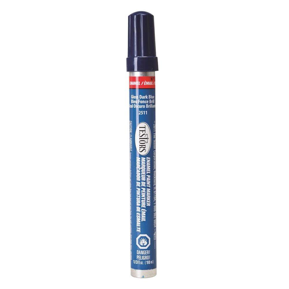 Gloss Dark Blue Enamel Paint Marker (6-Pack)