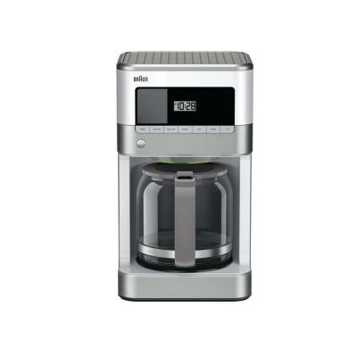 Brew Sense 12-Cup Programmable White Drip Coffee Maker