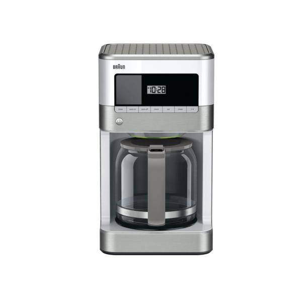 Braun Brew Sense 12-Cup Drip Coffee Maker in White KF6050WH