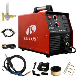 lotos welding machines mig140 64_300 lincoln electric 140 amp weld pak 140 hd mig wire feed welder with  at crackthecode.co