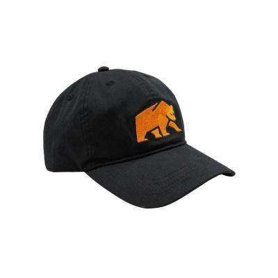 Men's Black Bear Ball Cap