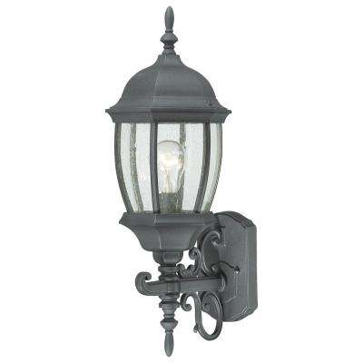 Covington 1-Light Black Outdoor Wall-Mount Lantern