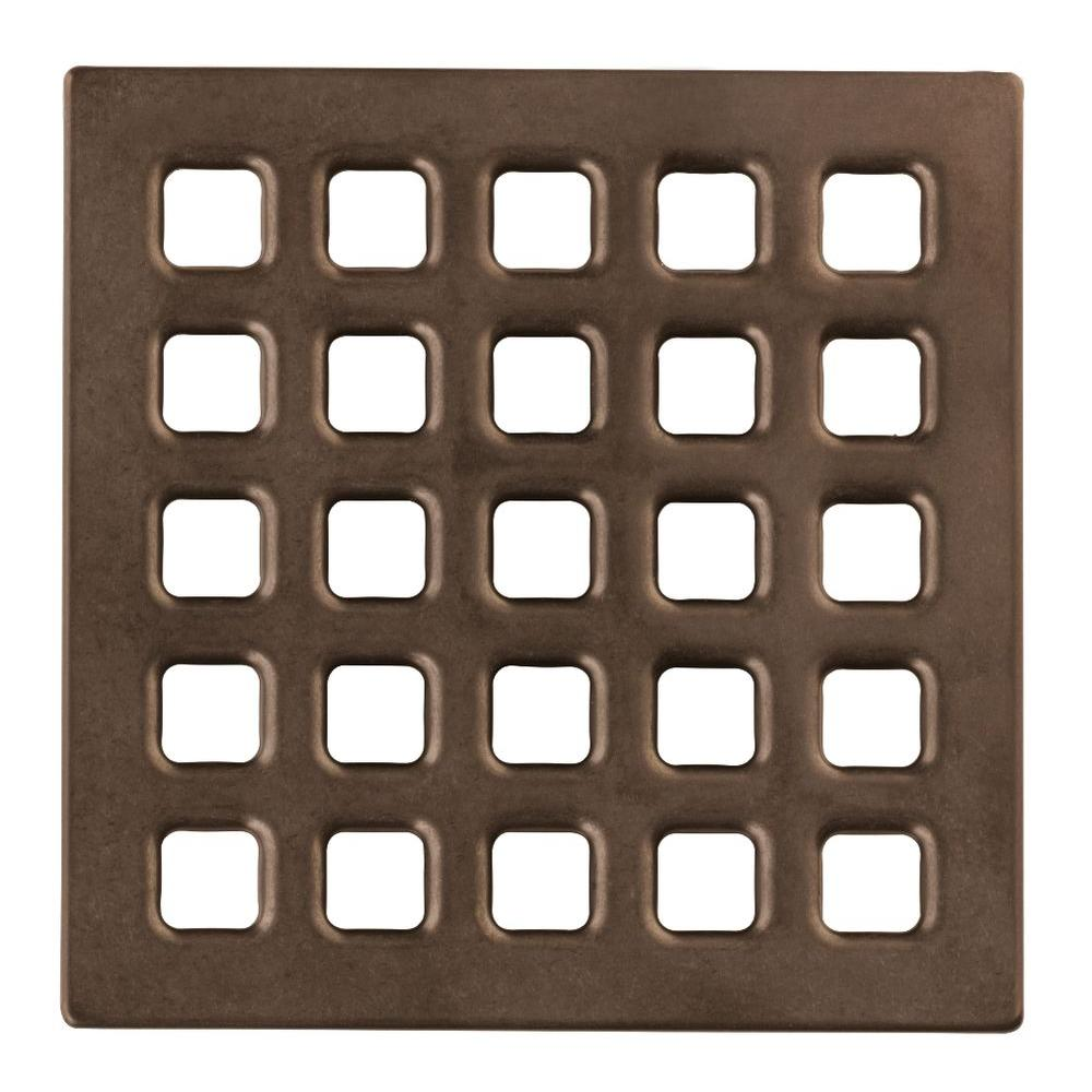 4 in. Oil Rubbed Bronze Professional Grate Kit Assembly
