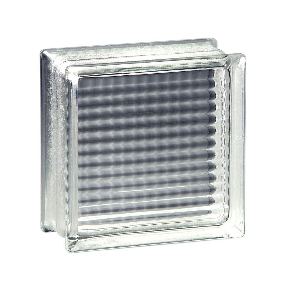 Pittsburgh Corning Thickset 8 in. x 8 in. x 4 in. Endura Glass Block (4-Case)