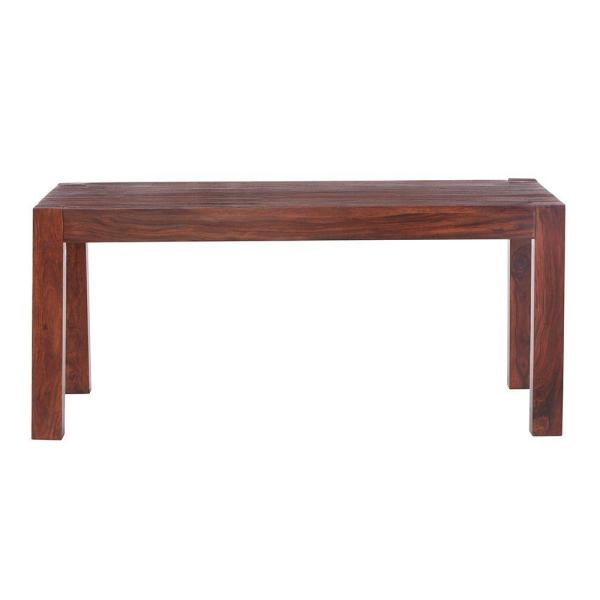 Edmund Distressed Walnut Dining Table